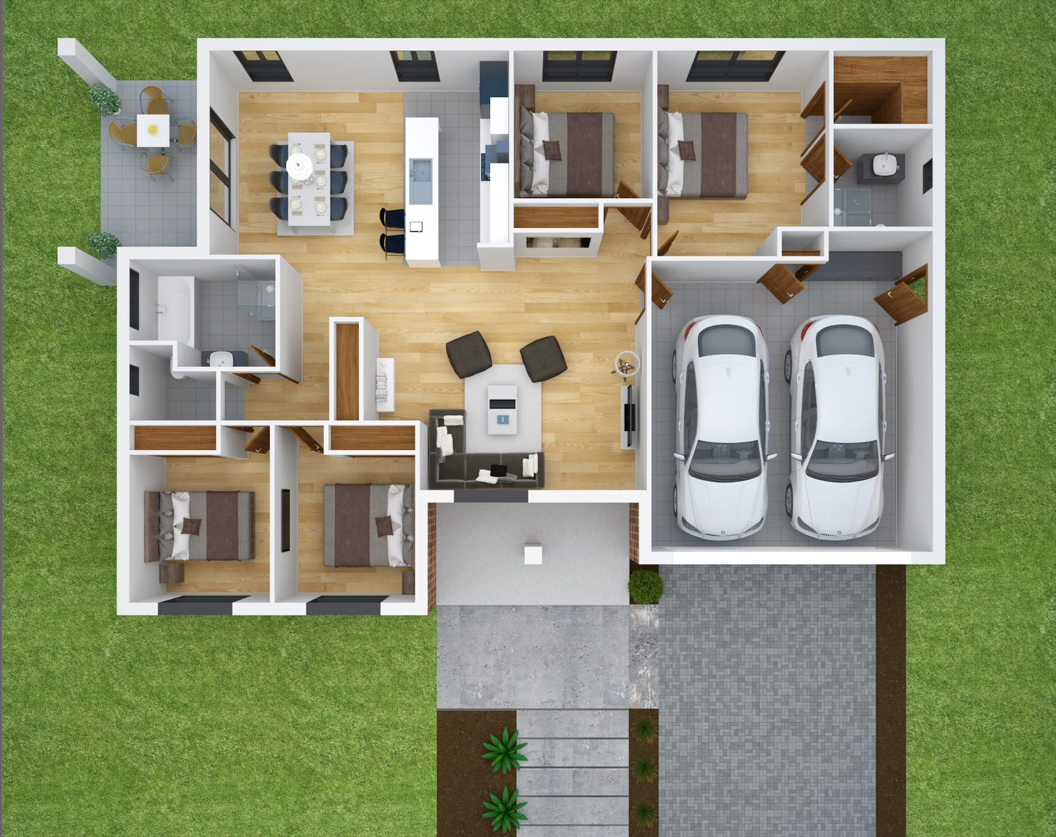 Bramwell Homes' Rosella floorplan
